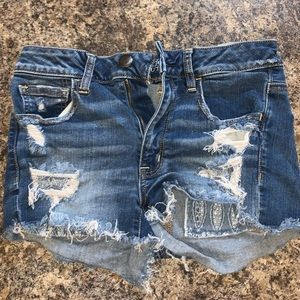 American Eagle Outfitters Distressed Shorts.